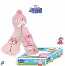 Winter Geschenkset für Babys Kleinkind 6 bis 24 Monate Peppa Pig 3 Tlg.