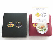2015 Canada Murano Venetian Glass Turtle $20 Silver Proof 1oz Coin Box Coa