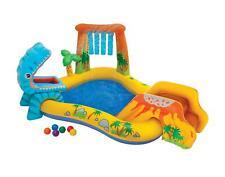 Intex Inflatable Kids Dinosaur Play Centre Garden Paddling Pool