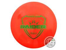 New Dynamic Discs Fuzion Raider 169g Orange Green Stamp Driver Golf Disc