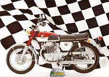 Honda CB 350 SS Super Sport Prospekt  Brochure 4 Seiten