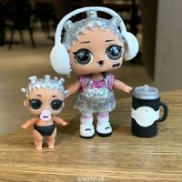 LOL Surprise Doll GLITTER BEATS BABY HOLIDAY BLING Series & Lil Dolls BABE Gift
