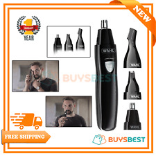 Wahl Nose Hair Trimmer For Men And Women 3-In-1 Ear & Eyebrow Trimmer 9865-804