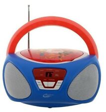 Boombox Portable CD Audio Player with AM/FM Radio Super Hero