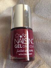 Nails Inc - One Coat Gel Nail Polish Burgundy 10 ml – Piccadilly Court