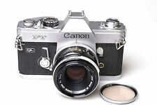 Canon FT QL + FL 50mm F1.8