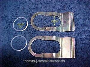 4 New Door & Storage Lock Retainer Gaskets Peterbilt 379 377 359 378 349 385 362