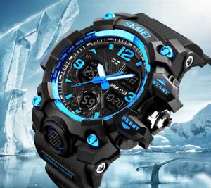 SKMEI Top Brand Luxury Sport Watch Men Fashion Outdoor LED Digital Wristwatches2