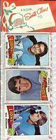 1975 Topps Football Holiday Christmas Rack Pack HOF Rookie RC Lynn Swann Poss?A7