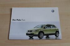 93340) VW Polo 9N Fun Prospekt 200?