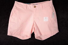 """Women's Old Navy Mid Rise Shorts 5"""" Length 29"""" Waist PINK SKY Size 0 ~NEW NWT ~"""