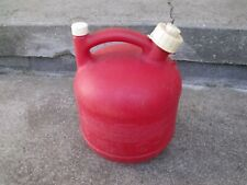 New listing Vintage Eagle 1 1/4 Gallon Plastic Gas Can Model Pg 1 Made in Usa