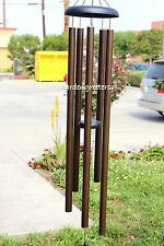 """LARGE 60"""" WIND CHIME BROWN 60"""" LARGE WIND CHIME Deep tone"""