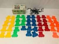 Marvel Education Thread-A-Bear Lacing Set of Math Counting Manipulative Toys