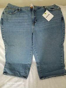 Women's New Look buggy shorts /jeans in light blue free post