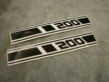 YAMAHA RD 200 DX SIDE PANEL DECALS STICKERS