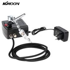 KKMOON Kit elettro compressore aerografo professionale doppia azione 0.3mm B0N9