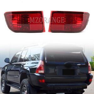 Rear Bumper Reflector Light for Toyota 4Runner 2003 2004 2005 Land Cruiser Prado