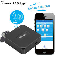 Home Automatic Smart Sonoff RF Bridge WiFi 433MHz Switch Remote RF Controller