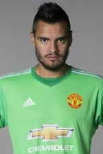 Football Photo>SERGIO ROMERO Man Utd 2015-16