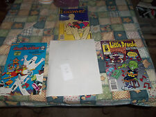 LOT #46 3 COMICS  GHOST BUSTERS , O.G. WIZ AND LITTLE DRACULA