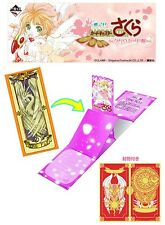 Banpresto Ichiban Kuji Cardcaptor Sakura Clow Card Arc Prize G Greeting Card Fly