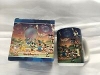 "Walt Disney World 2000 ""Celebrate the Future Hand in Hand"" 16 oz Coffee Mug Cup"