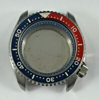 Seiko 7548-700F Dive Watch Case Only, Looks Great! Pepsi Bezel