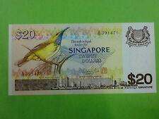 Singapore $20 Bird 1979 (UNC) (Mr Hon Sui Sen & Seal) A/55 391471