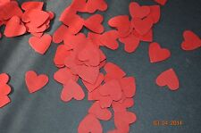 Heart cutouts decorations confetti wedding, scrapbooking, party 100 pc per order