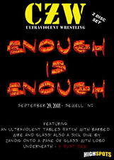 Combat Zone Wrestling: Enough is Enough DVD, CZW