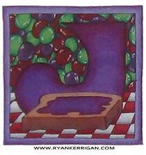 "phish alPHabet MAGNETS 2""x2"" letter J for jam  ( by KERRIGAN )"