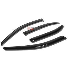 FOR 93-97 TOYOTA COROLLA SMOKED OUTSIDE MOUNT WINDOW VISOR WIND RAIN DEFLECTOR