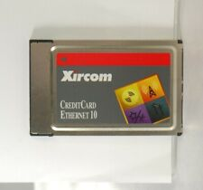 Xircom CreditCard Ethernet 10 Performance Series Network adapter - PC Card. Used
