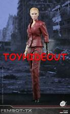 "POP TOYS TERMINATOR 3 T-X 12"" 1/6 ACTION FIGURE FEMBOT US SELLER IN HAND NEW"