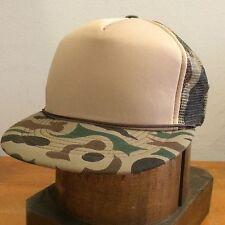 Camouflage Capital Vintage 80s Mesh Camo Trucker Cap Hat