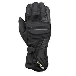 Alpinestars WR-V Gore-Tex Leather Motorcycle Motorbike Touring Glove Black SALE