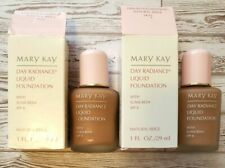 Lot of 2 Mary Kay NIB Day Radiance Liquid Foundation Natural Beige (0635) SPF8