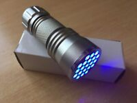 Car And Air Conditioning Leaks UV detection Torch - Free Batteries