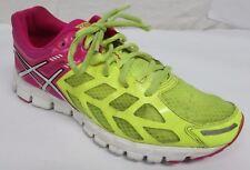 Asics women's size-6.5 running shoes walking pink yellow