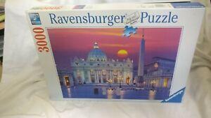 🤖 RAVENSBURGER: 3000 piece jigsaw puzzle no. 17 034 0 basilica rome