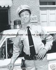 ANDY GRIFFITH SHOW DEPUTY SHERIFF BARNEY FIFE DON KNOTTS PATROL CAR 8 X 10 PHOTO