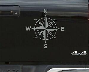 GREY Compass Navigation STICKER DECAL GRAPHICS