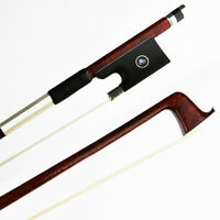 NEW 4/4 Size Hard Carbon Fiber Violin Bow Pernambuco Skin, Concerto Level