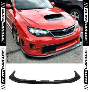 Front Bumper Lip Spoiler FOR Subaru Impreza WRX WideBody STI (GT V2) (2011-2014)