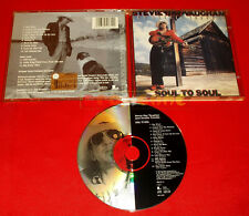 STEVIE RAY VAUGHAN And DOUBLE TROUBLE - Soul to Soul  - CD - 1999 - USATO - GI