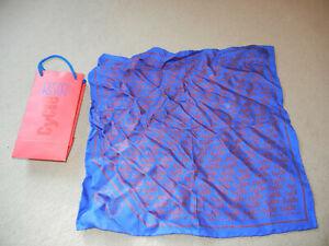 Otto Kern Cycle,Einstecktuch,reine Seide,Parfumes,Rot,Blau,Mode,Sammlerstück in