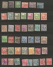 RF Tunisie années 1890--1950 42 timbres oblitérés /T5613