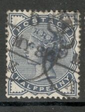 Queen Victoria - SG 187  - 1/2d. - Slate Blue - Good Condition