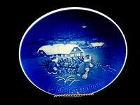 """Bing & Grondahl 6"""" Christmas Plate,""""The Christmas Tree"""" ,1982 #10/9/2"""